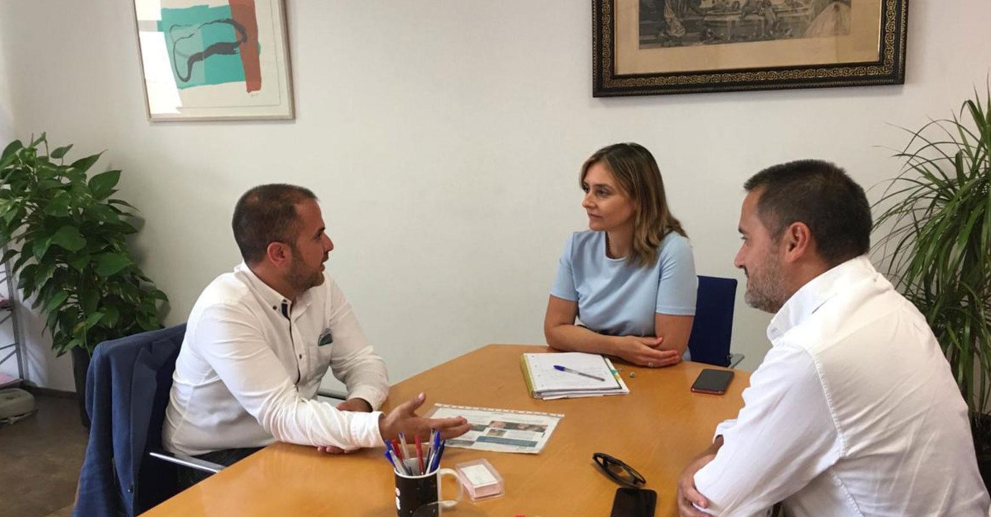 Noticia: Reunión en el Ayuntamiento de Murcia