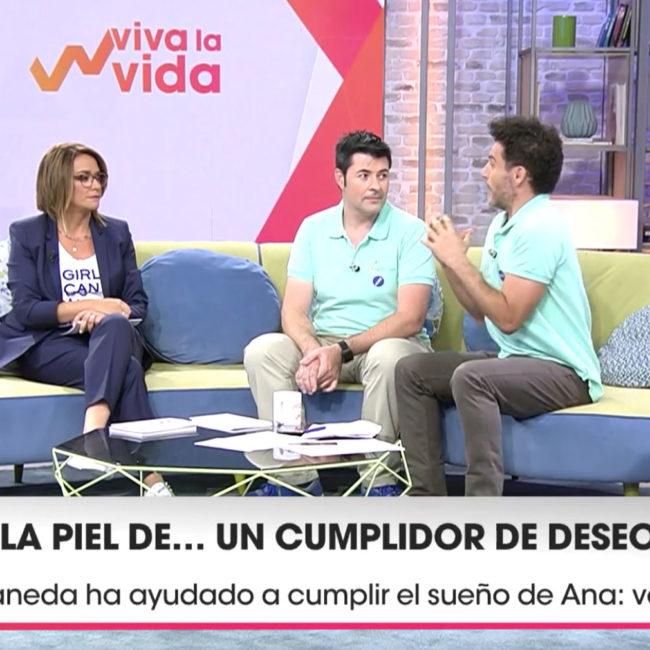 Noticia: Salimos en ¡Viva la Vida!